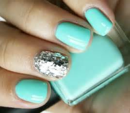 one nail different color trend summer nail design