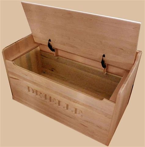 storage bench hinges amish hardwood bench toy box solid oak chest two safety