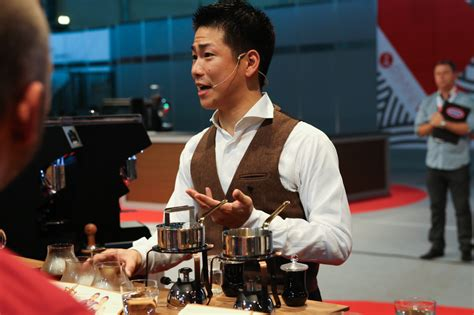 Hidenori Izaki Of Japan Wins The 2014 World Barista Championship