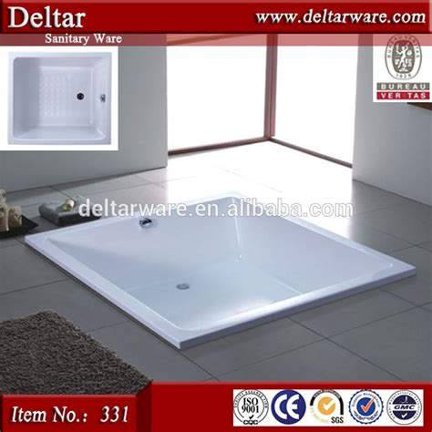 Drop In Tub Sizes Square Tub Big Size Drop In Bathtub Solid Surface