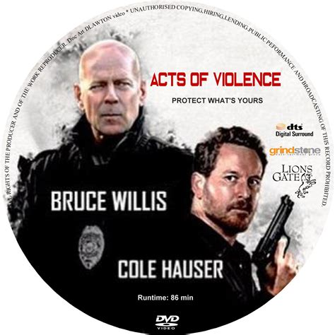 Acts Of Violence 2018 Original acts of violence 2018 r1 custom dvd cover label dvdcover