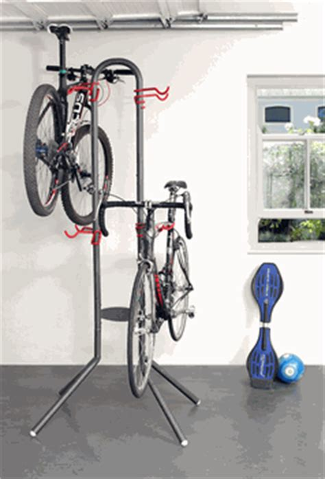 free standing four bike rack