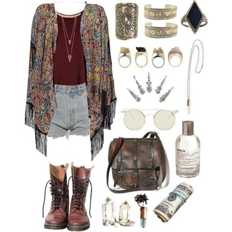 More boho/gypsy outfits   Polyvore