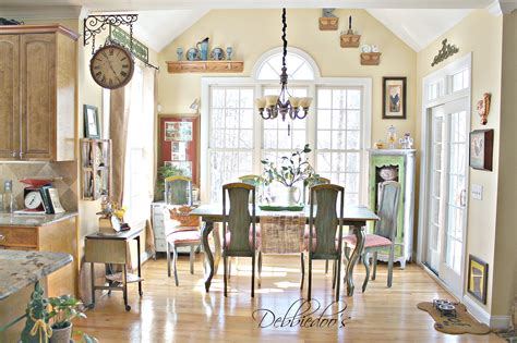 french country style kitchen french country kitchen style freshened up debbiedoos