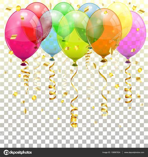 imagenes de globos sin fondo fondo de fiesta con globos vector de stock 169 talexey