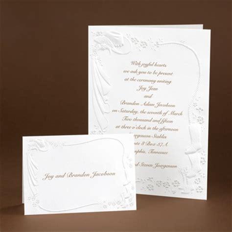 Wedding Invitations Cheap Western by Western Fancy Invitation S Bridal Bargains