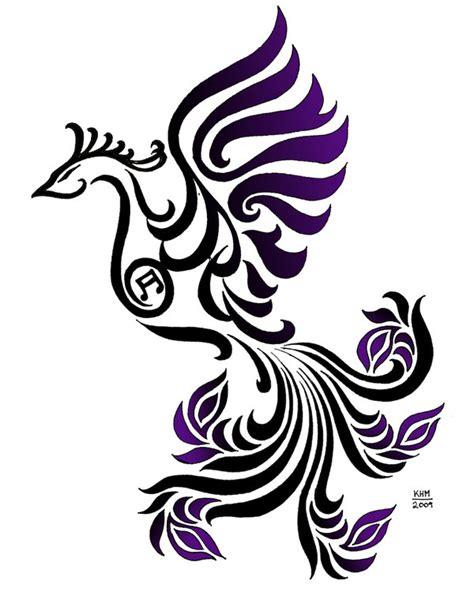 phoenix tattoo purple purple phoenix by marduk01 on deviantart