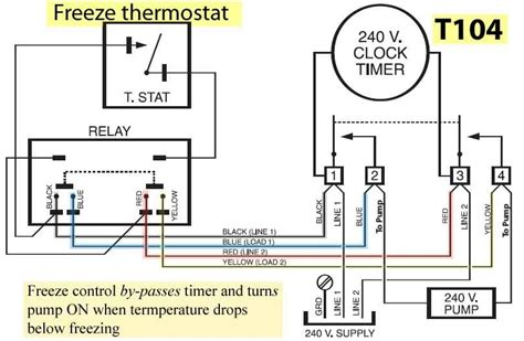 intermatic pool timer wiring diagram intermatic timer t103 wiring tamahuproject org
