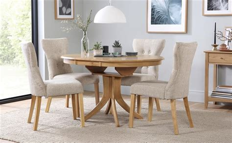 Extending Kitchen Tables And Chairs Hudson Extending Dining Table 4 Chairs Set Bewley Oatmeal Only 163 399 99 Furniture Choice