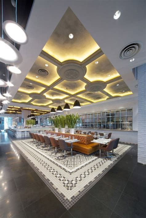 futuristic interior design cafe the exchange restaurant interior design in singapore