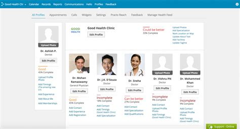 Search Profiles On Editing Your Practo Profile Practo Help