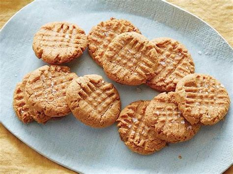 peanut butter biscuit recipe flourless peanut butter cookies recipe robinson food network