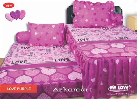 Seprei My Pink Pagoda sprei duo grosir sprei dan bed cover murah
