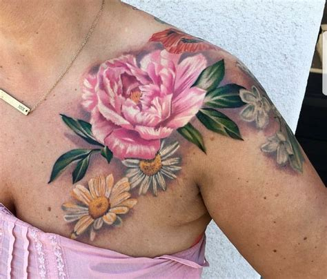 peonie tattoo peonie garden flowers watercolor ink