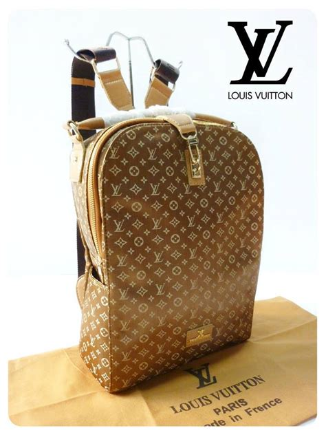 Lv Canvas Tuileries Kualitas Kulit Mateng 4 lv ransel canvas gold limited sold out rumah tas branded