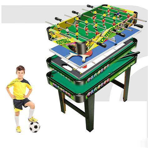 4 in 1 foosball table 4 in 1 table tennis air hockey pool foosball soccer
