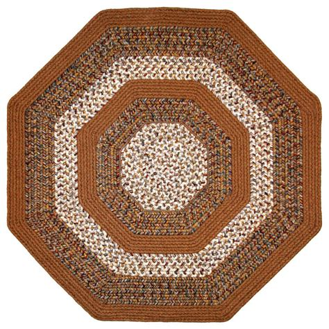 4x4 outdoor rug beantown braided rug 4 x4 octagon farmhouse area rugs by thorndike mills