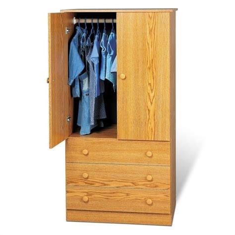 tv wardrobe armoire in oak jod 3060 k