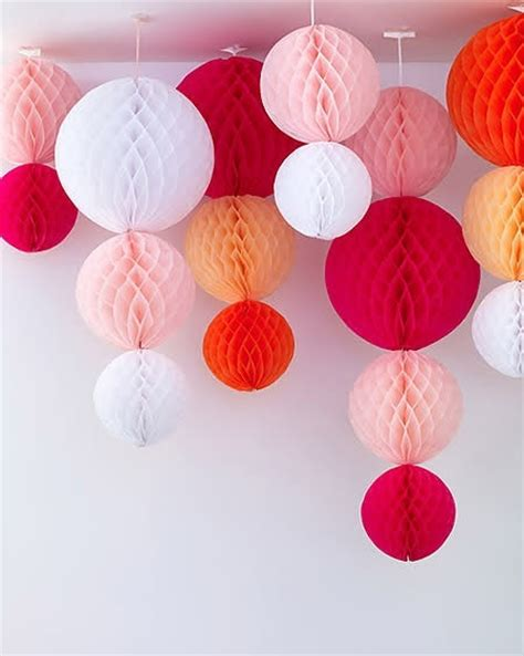 How To Make Paper Balls For Decoration -