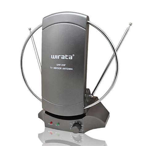 wirata indoor tv antenna with booster lifier