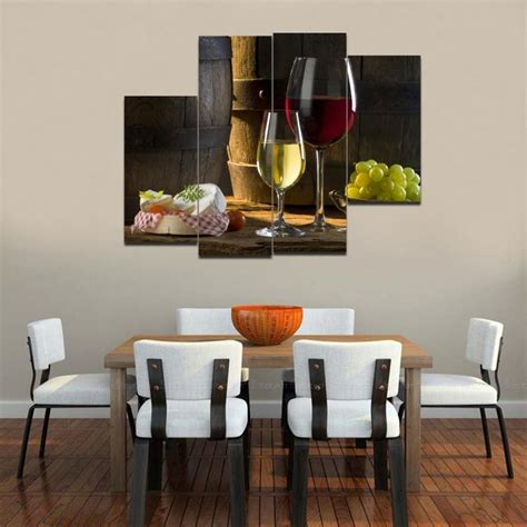 ideas dining area wall on plate wall decoration for a