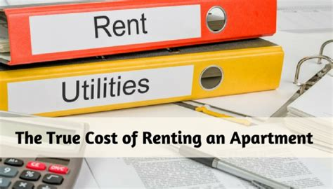renting an apartment the true cost of renting an apartment