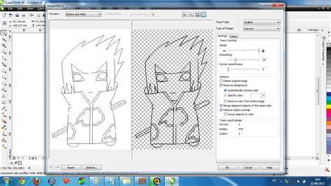 membuat outline gambar corel draw draw membuat outline gambar di corel draw