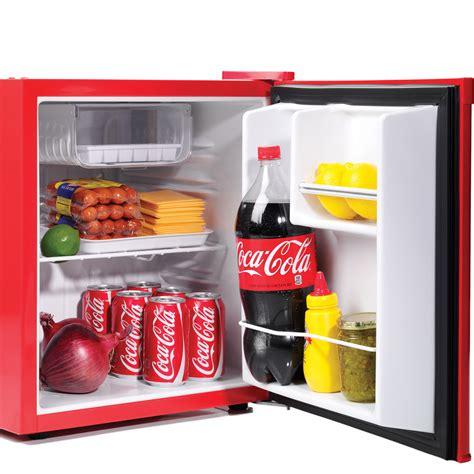 Freezer Coca Cola coca cola mini fridge w top tray freezer compact food