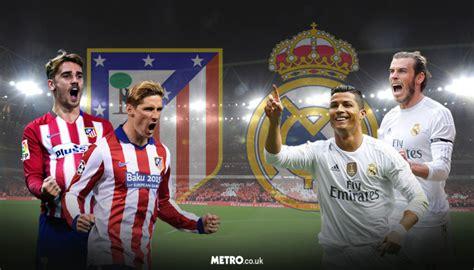 imagenes real madrid vs atletico de madrid chions league final 2016 five classic derby moments