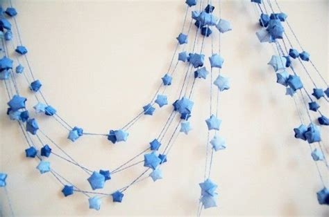 Origami Garland - best 25 origami lucky ideas on