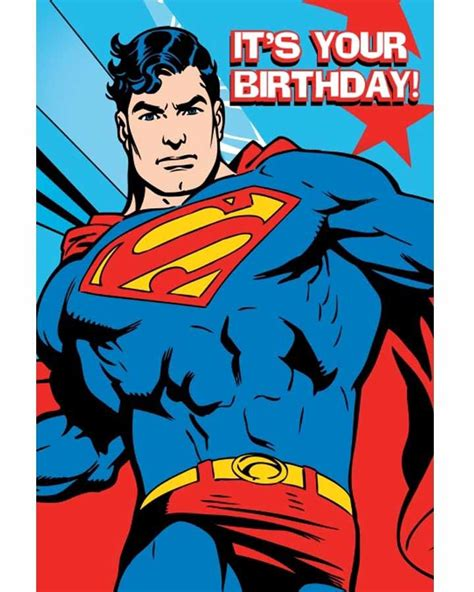 superman superpowers card template superman birthday card supplies