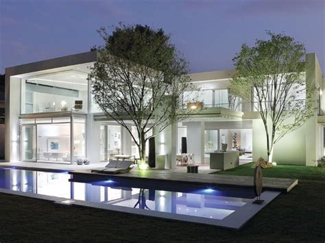 Refined Interiors Displayed By Opulent Modern Residence In Architectural Designs South Africa