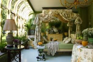 Elegant winter garden with rich interior decor idesignarch