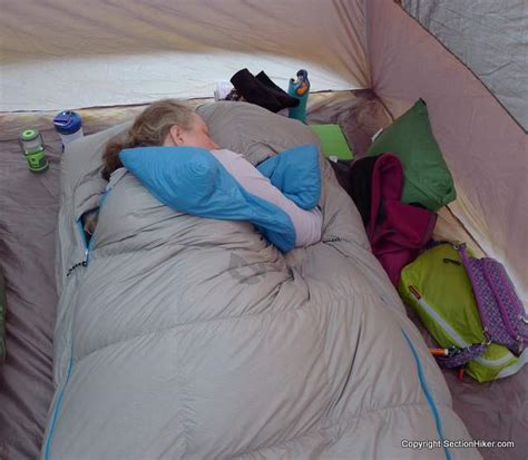 Side Sleeper Sleeping Bag by Nemo Strato Loft 25 Sleeping Bag Review Section Hikers