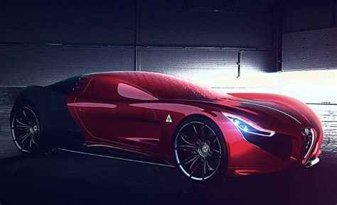 Alfa Romeo Supercar by Alfa Romeo C18 Supercar Concept Suits Iron S Car