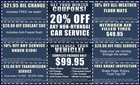 Hyundai Service Coupon hyundai service coupon winterize your vehicle chicago