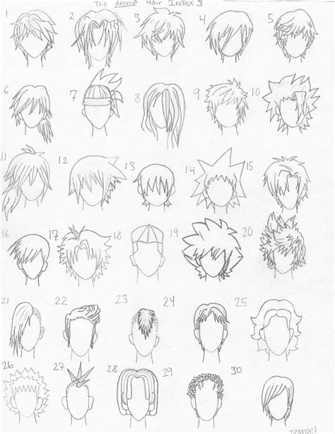 the anime hair index 3 by xxangelsilencex 25461 on wookmark