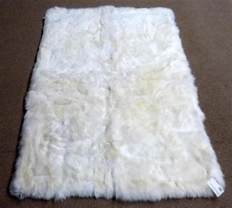 faux white sheepskin rug faux sheepskin rug white best decor things