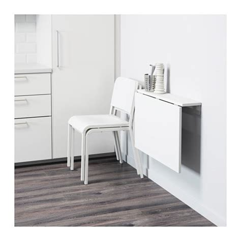 ikea wall mounted table norberg wall mounted drop leaf table white 74x60 cm ikea