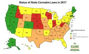 States With Legal Weed Map by 2017 Map Of Us State Cannabis Laws Georgia Care Project