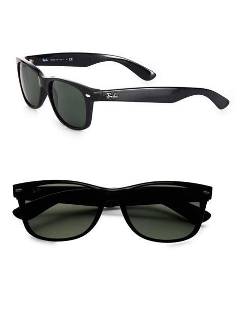 Ban Wayfarer ban new wayfarer sunglasses in black for lyst