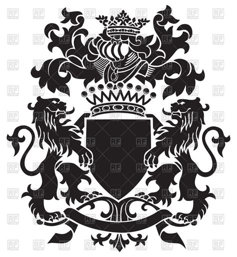 the of heraldry an encyclopedia of armory classic reprint books heraldic emblem royal coat of arms with lions