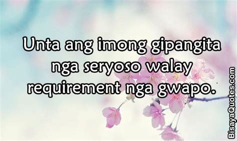 Quotes About In Bisaya by Bisaya Quotes About Quotesgram