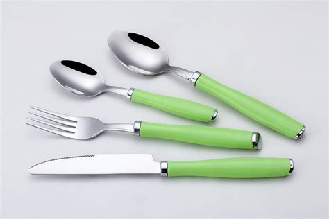 cutlery handles cutlery with green plastic handle buy plastic handle