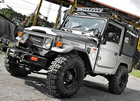 Fj40 Modifikasi by Modifikasi Toyota Fj40 1980 Si Gachy
