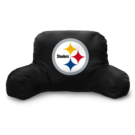 pittsburgh steelers bed rest pillow backrest