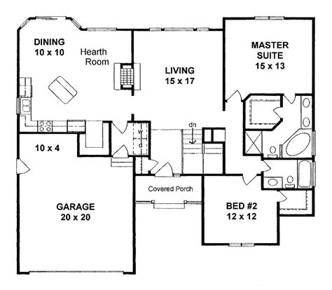 house plans 1400 square feet two bedroom home plans two bedroom traditional planos