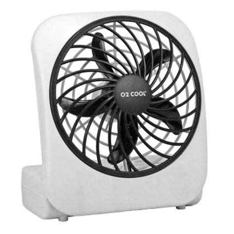 battery operated register fan o2cool 5 in battery operated portable fan fd05004 the