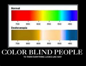 what it looks like to be color blind color blindness