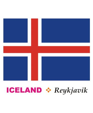 iceland flag coloring pages for kids to color and print